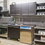 Küche Saal